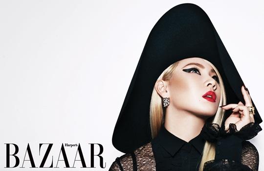 """""""Bazaar"""" Reveals Mystifying Pictures of 2NE1's CL"""