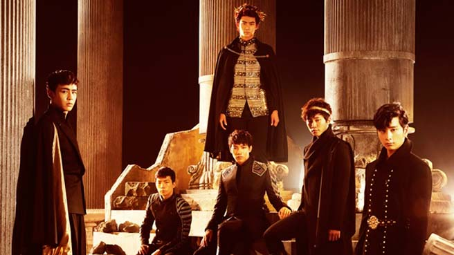 2PM Dominates Japanese Music Charts