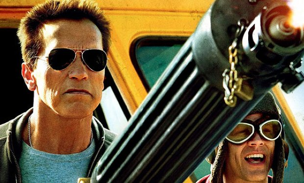 Arnold Schwarzenegger Is Happy to Be Back in South Korea, As an Actor!