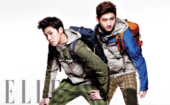 DBSK Looks Dynamic for Lafuma!
