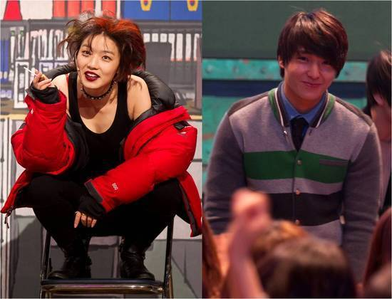 """FT Island's Choi Jong Hoon Shares A """"Candy Kiss"""" With Female Comedian"""