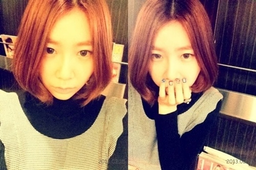 Brown Eyed Girls' JeA Gets a New Haircut