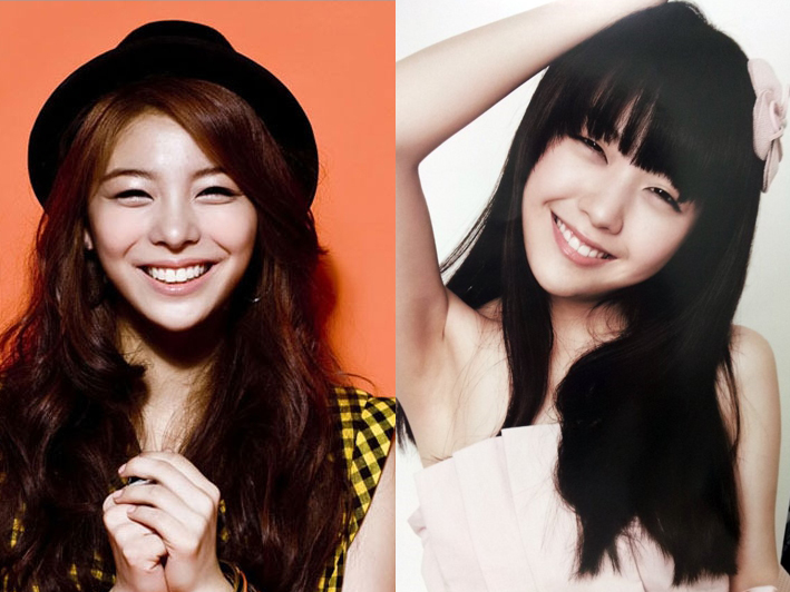 Girl's Day Minah and Ailee Pose for a Smooch
