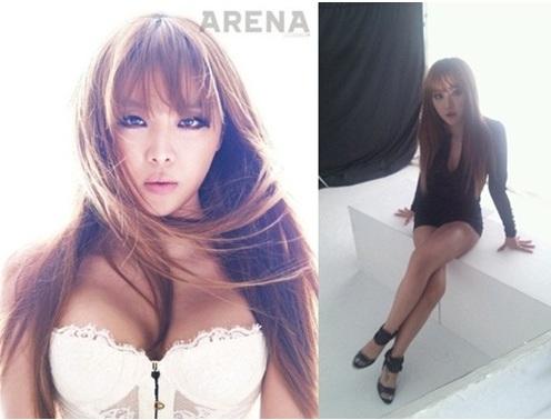 Narsha Sizzles Up Arena Photoshoot!