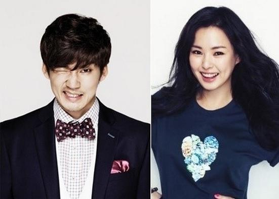 Yoon Gye Sang and Lee Honey Become Korea's Newest Celebrity Couple