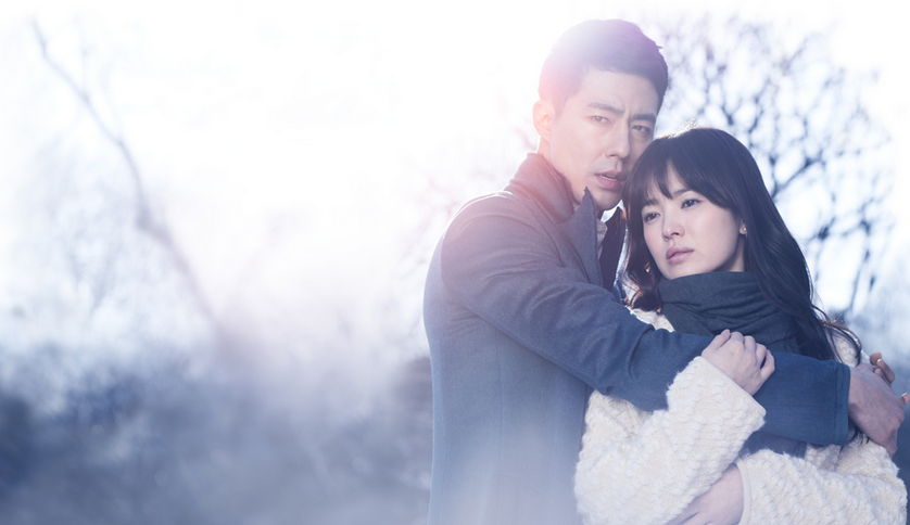 Jo In Sung and Song Hye Gyo Share a Romantic Cotton Candy Kiss