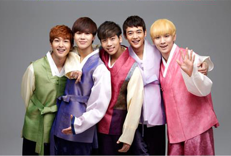 SHINee Reveals Their Lunar New Year's Greetings