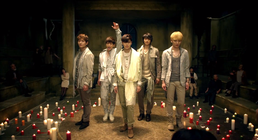 "SHINee Releases Teaser Clip For Japanese Single ""Fire"""