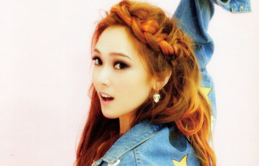 Girls' Generation's Jessica Is a Beautiful Lady of Spring