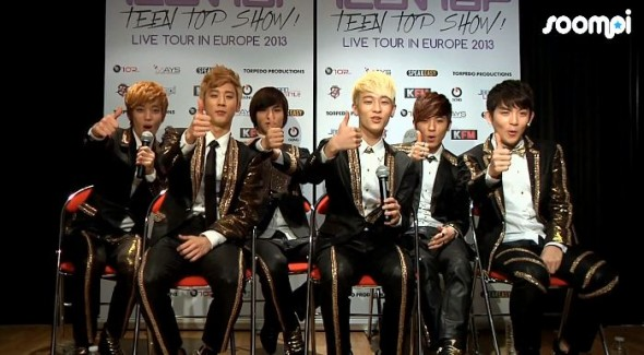 [Exclusive Interview] Teen Top Talks About Pre-debut, Funny Stories and Shows Aegyo