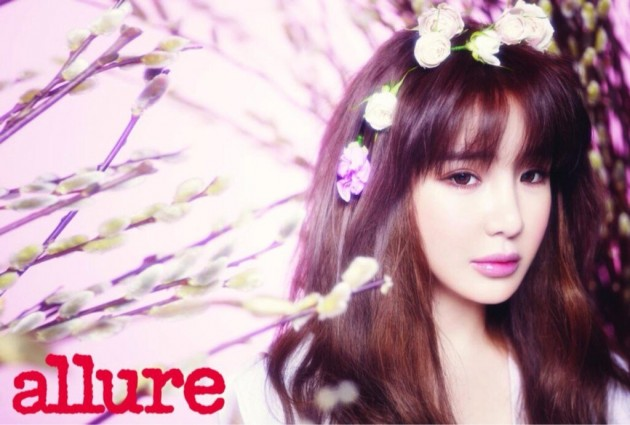 """Park Bom Is Enchanting and Reveals Her Beauty Secrets in """"Allure"""""""