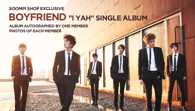 "[Soompi Shop] Autographed Boyfriend ""I YAH"" Special Package!"