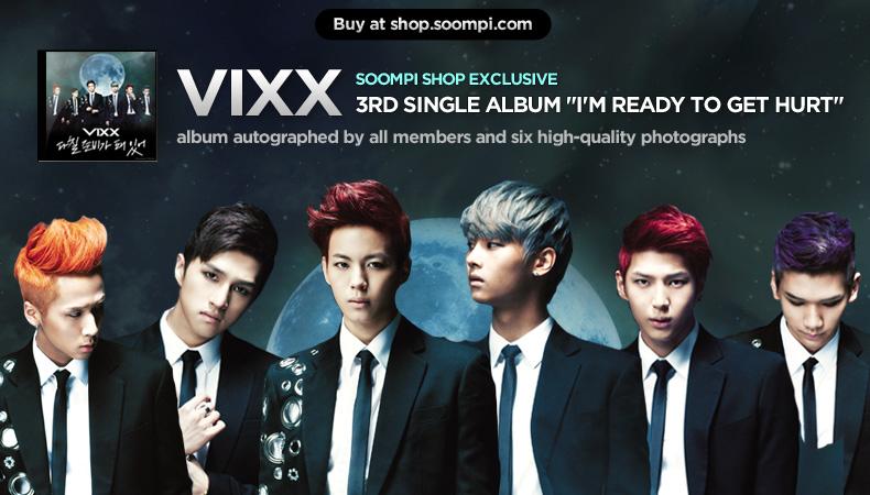 [Soompi Shop] Autographed VIXX Special Package!