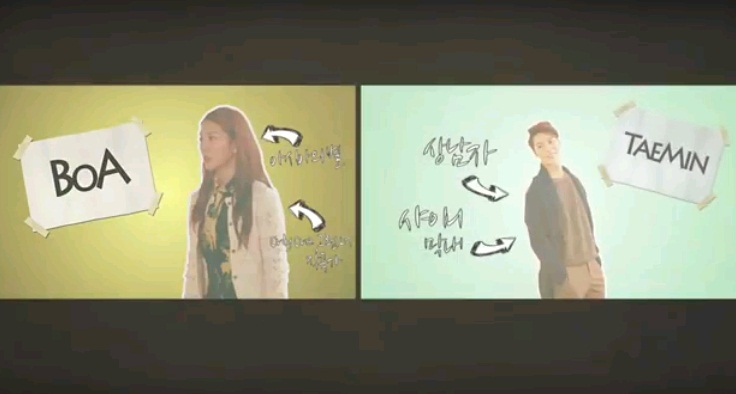 """BoA and Taemin Show Sibling-Like Friendship in Making of Video for """"Disturbance"""""""