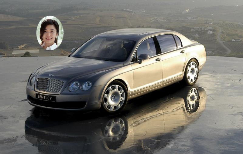 Foto del auto de Jeon Ji Hyun -