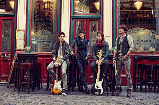 CNBlue Dominates Japanese and Taiwanese Music Charts