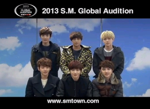 EXO-K Announces 2013 SM Global Auditions