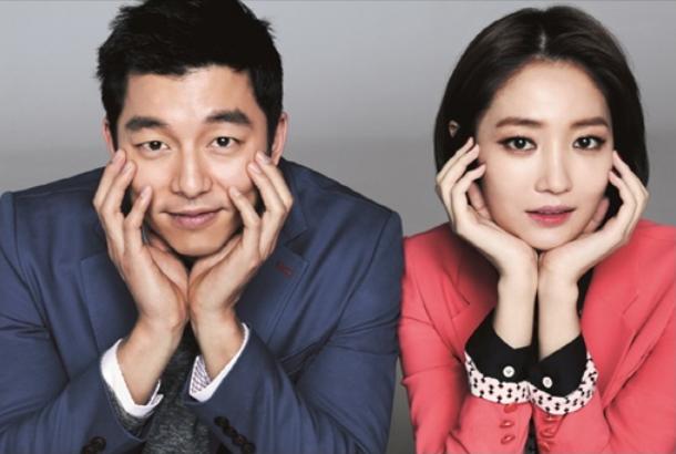 "Gong Yoo and Go Joon Hee Model for Fashion Brand ""Mind Bridge"""