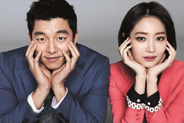 "Gong Yoo and Go Joon Hee Model for Fashion Brand ""Mind Bridge"""
