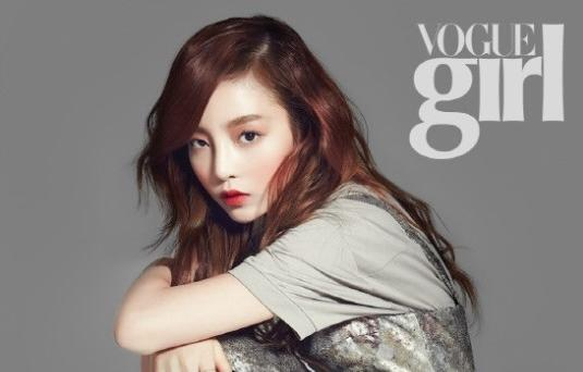 "Kara's Goo Hara Looks Modern for ""Vogue Girl"""
