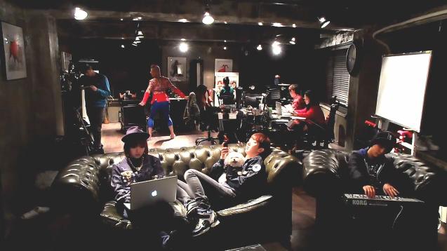 "Min, Jo Kwon and Amber Create a ""Harlem Shake Kpop Style"" Video"
