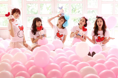 "New Girl Group ""Heart Rabbit Girls"" Makes Their Debut"