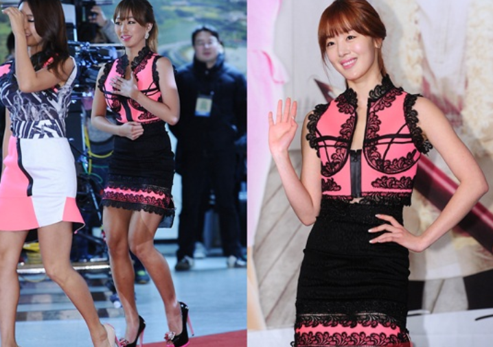 Who Wore It Better: Hyorin vs. Han Sun Hwa