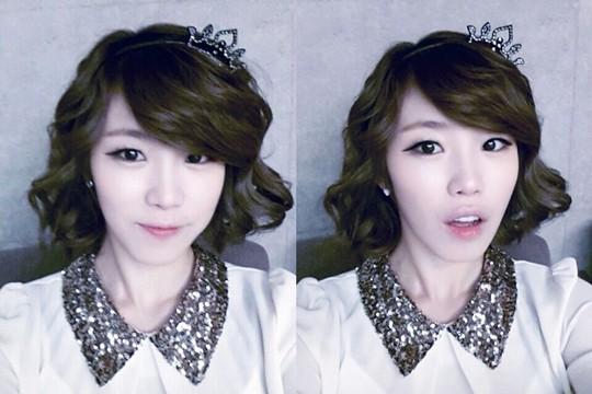Secret's Hyosung Uploads Her Lovely Princess Selcas