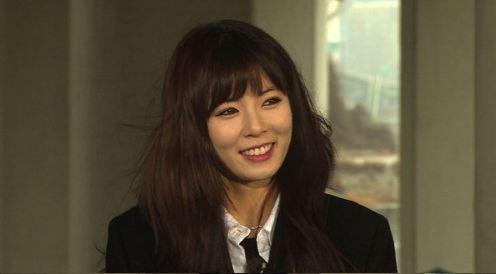 "HyunA Spotted Filming ""Running Man"""