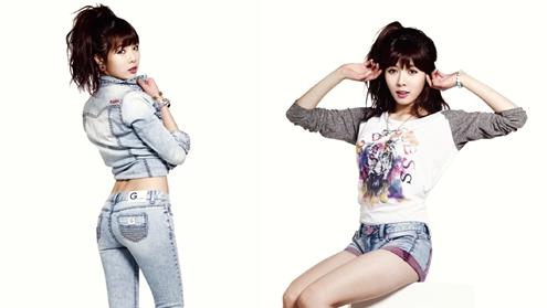 """G by Guess"" Chooses 4Minute's HyunA as Fashion Muse"