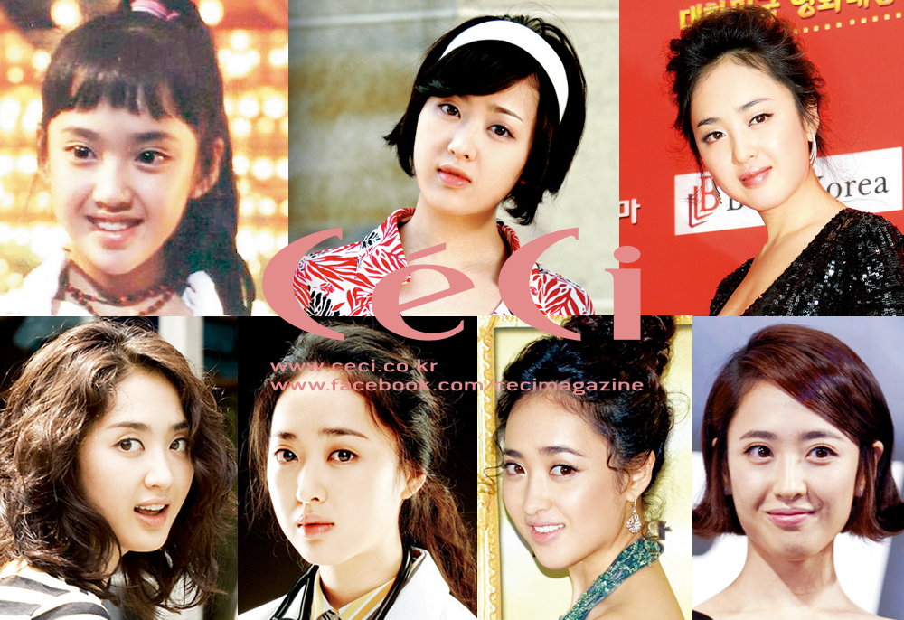 [Ceci] Legend Beauty: Kim Min Jung's Transformation Over the Years