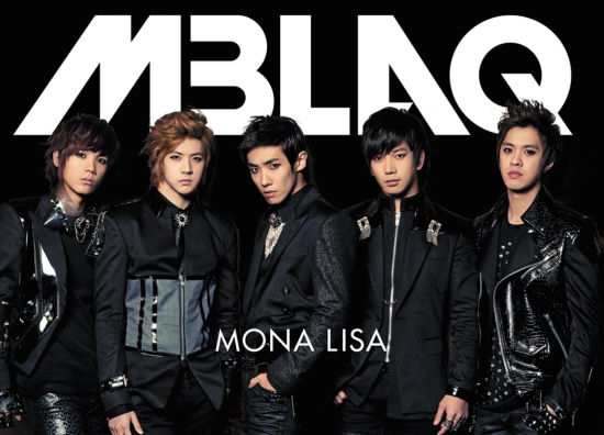 "MBLAQ Releases Jacket Images for Japanese Single ""Mona Lisa"""