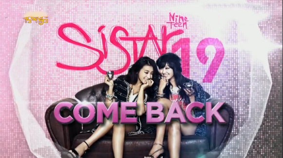 SISTAR19 Makes Their Comeback Performance on Music Core