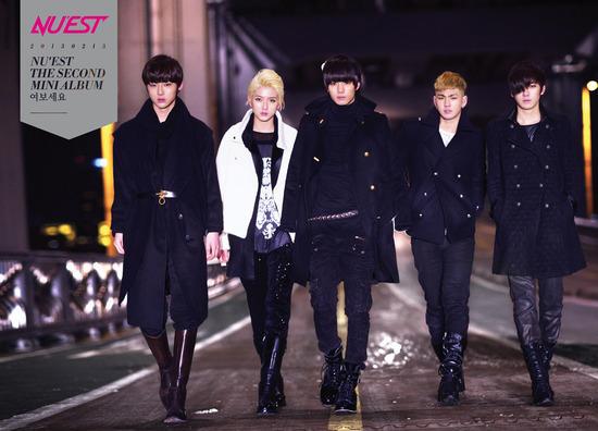 NU'EST Reveals New Album Jacket and Individual Teaser Photos