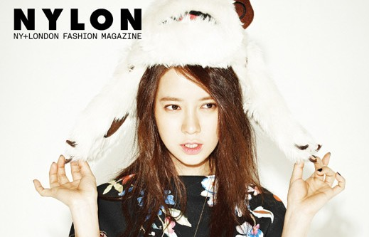 "Song Ji Hyo Is a Free-Spirited Lady for ""Nylon"" Magazine"
