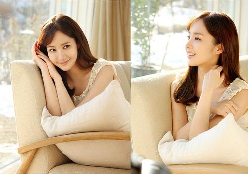 Park Min Young at a Cosmetics CF Shoot