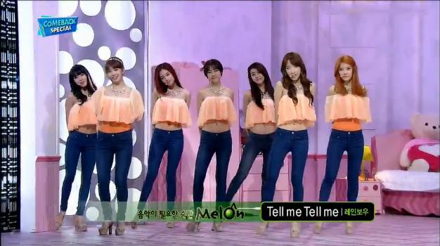 Rainbow Makes Their Inkigayo Comeback Performances