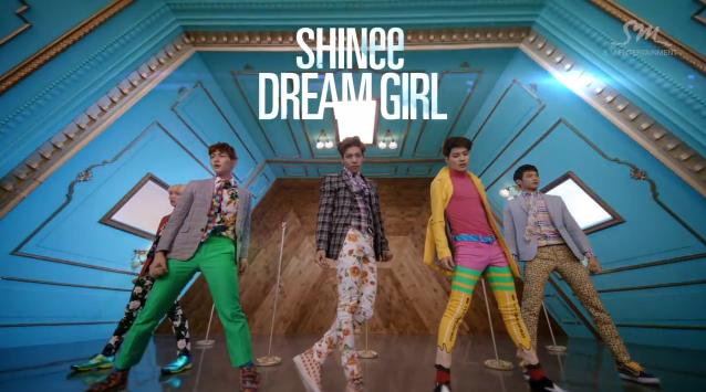 """SHINee Releases MV for """"Dream Girl"""" + Dance Ver. MV"""