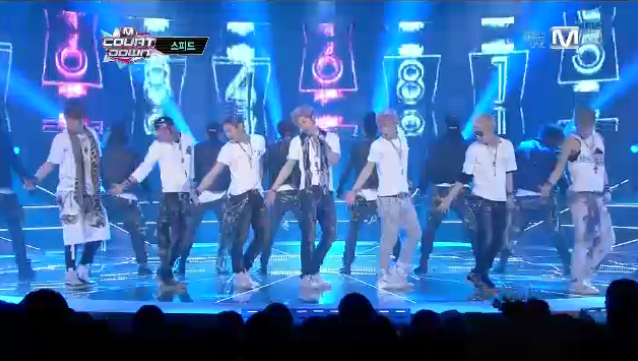"""SPEED Makes Their Repackaged Comeback on M!Countdown with """"Pain"""""""