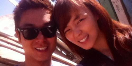 Sunye Updates Fan with Happy Selca with Husband