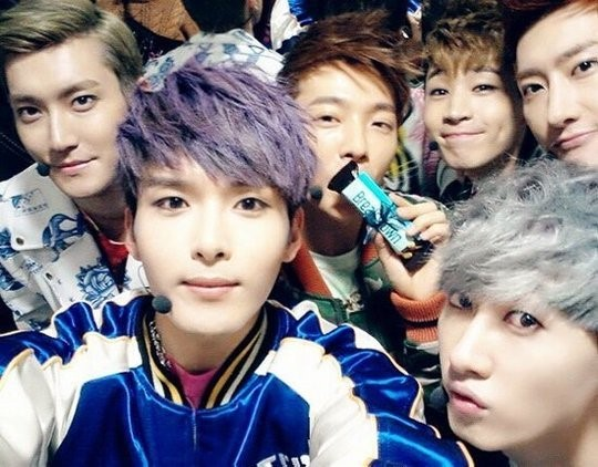Super Junior-M Posts Adorable Group Selca