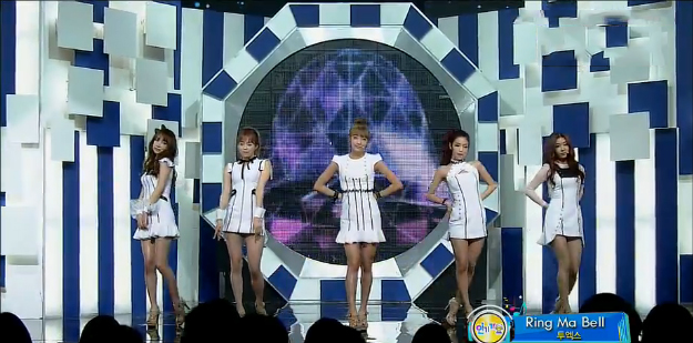 """Two X Performs """"Ring Ma Bell"""" for Inkigayo Comeback Stage"""
