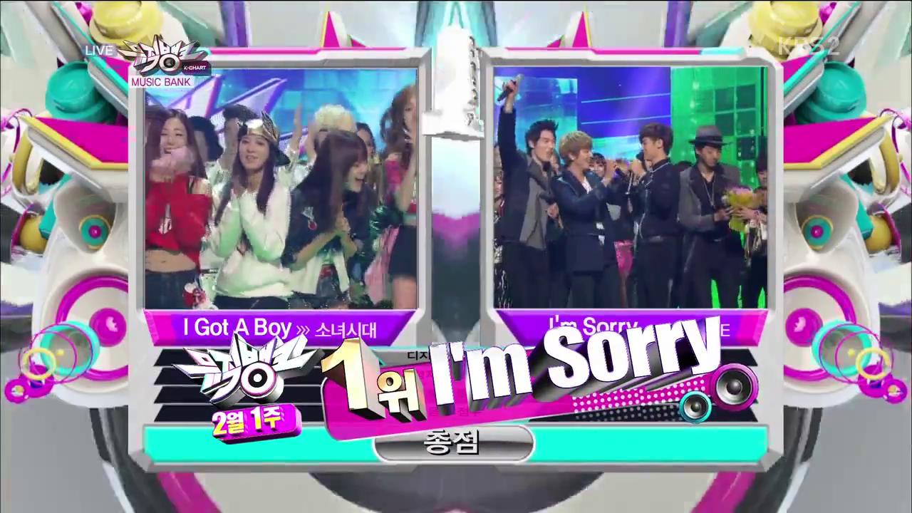 KBS Music Bank – 1 February, 2013