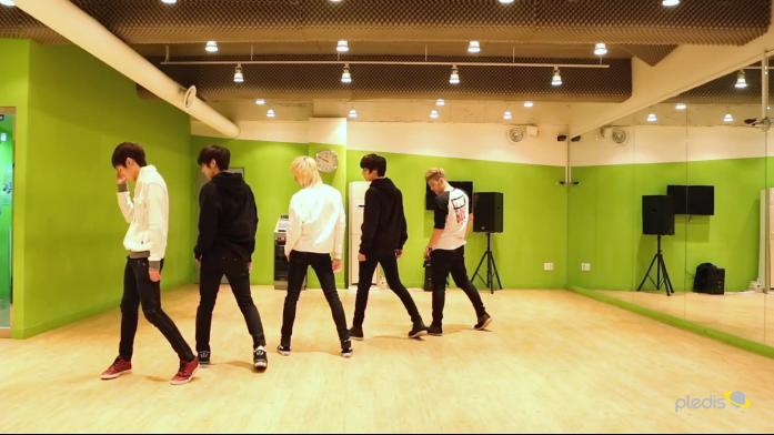 """NU'EST Releases Dance Practice for """"Hello"""""""