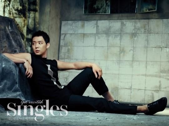 "Park Yoochun for ""Singles"" Magazine"