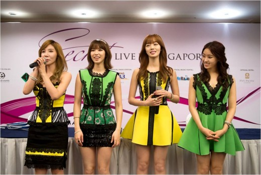 Secret to Hold First Exclusive Concert in Singapore on March 29!