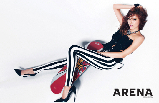 Son Dam Bi Shows Off Her Healthy and Sexy Body for Arena Homme Plus