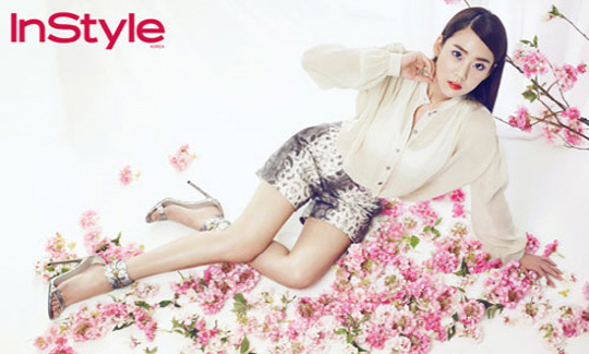 Han Seung Yeon Looks Sexy and Dreamy for InStyle!