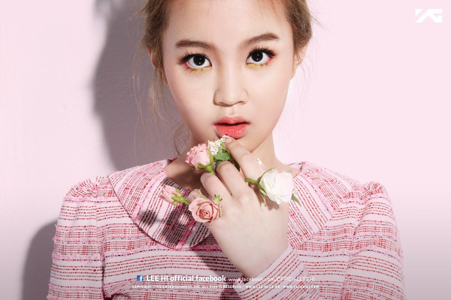 """Lee Hi Releases MV for """"Rose"""" and Album """"First Love"""""""