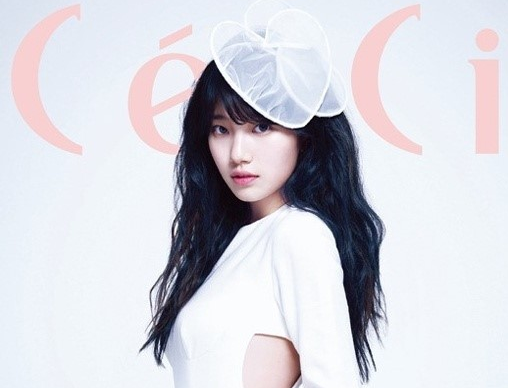 """Suzy Looks Darling For April Issue of """"Ceci"""""""